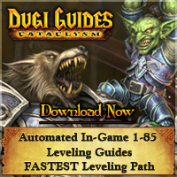 WoW Guide, Dugi's Dailies, Dungeon Guide, Warcraft, World of Warcraft, Dungeon Levelling, Events Guide, Dugi's Leveling, Instances by Level, Profession Guide, Make Gold, wow warcraft alliance horde cataclysm leveling guide