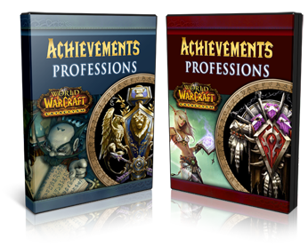wow  warcraft alliance horde cataclysm achievement profession guides