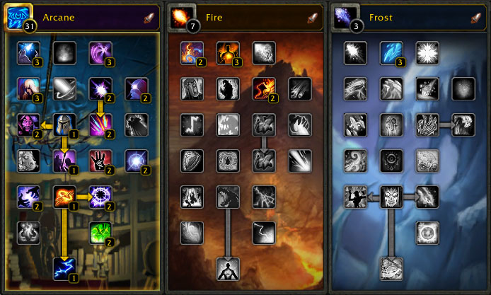 Image Result For Frost Mage Leveling Spec