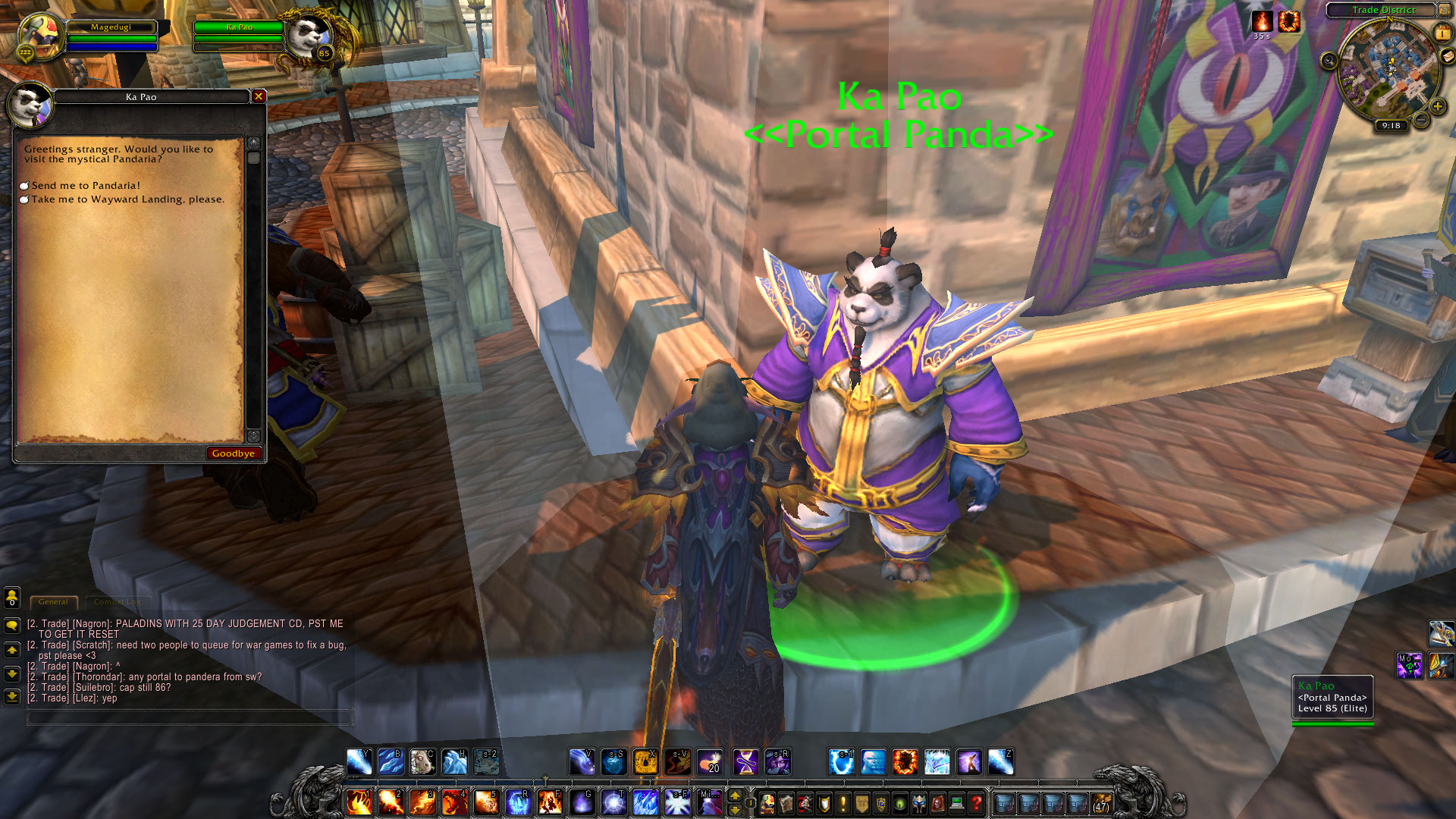 World of Warcraft: how to get to Pandaria Alliance and Horde players
