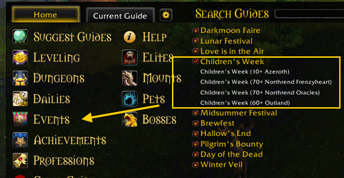 children's week guide