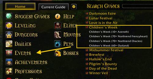 children's week guide