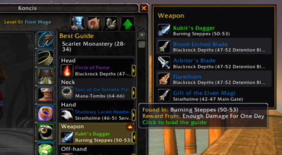 WOW Dugi Guide