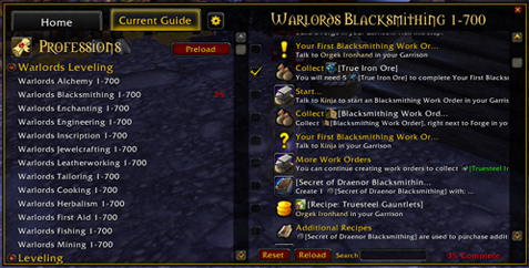secret of draenor tailoring how to get